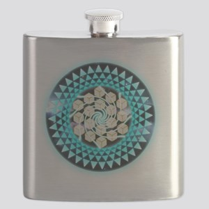 Metatrons Cube Crop-Circle Flask