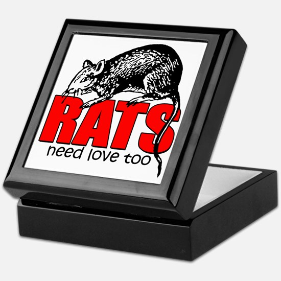 ratsneedlovetoo Keepsake Box