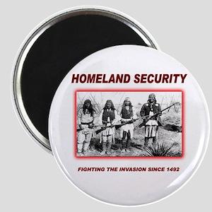 Homeland Security Native Magnet