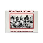 Homeland Security Native Rectangle Magnet (10 pack
