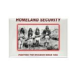 Homeland Security Native Rectangle Magnet