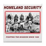 Homeland Security Native Tile Coaster