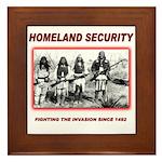 Homeland Security Native Framed Tile