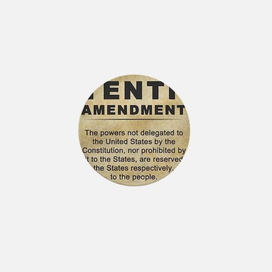 jan12_tenth_amendment_1 Mini Button