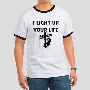 I Light Up Your Life Ringer T