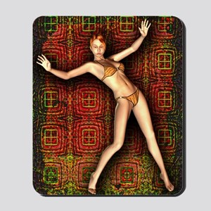 BikiniGirl9-12 Mousepad