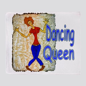 DancingQueen Throw Blanket
