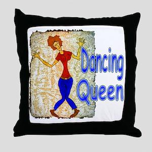 DancingQueen Throw Pillow