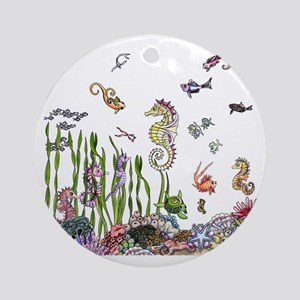 oceanlife Round Ornament