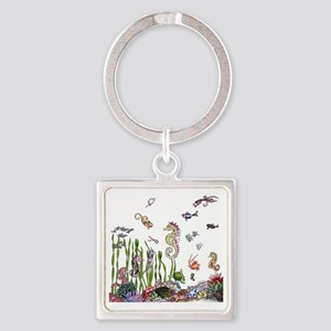 oceanlife Square Keychain