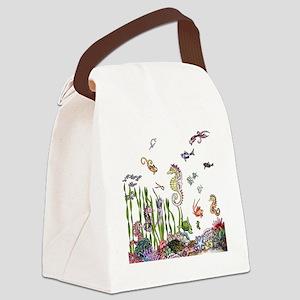 oceanlife Canvas Lunch Bag