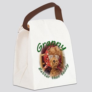 Granny_better than teddy Canvas Lunch Bag