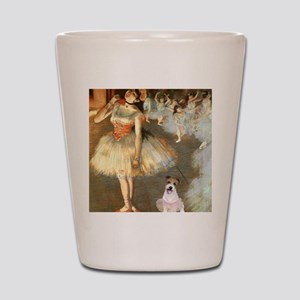Z-16x20-Dancers-JackRussell11 Shot Glass