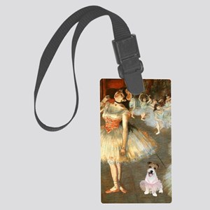 Z-16x20-Dancers-JackRussell11 Large Luggage Tag