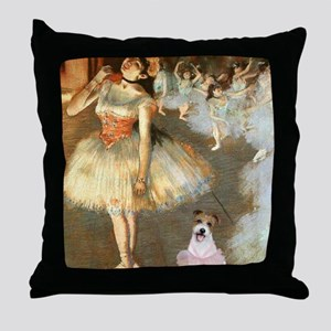 Z-16x20-Dancers-JackRussell11 Throw Pillow