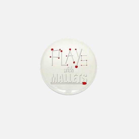 mallet percussion musical instrument m Mini Button