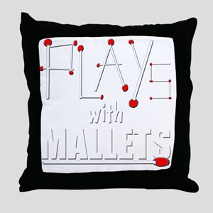 mallet percussion musical instrument  Throw Pillow
