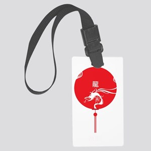 2012 - Year of the Dragon Large Luggage Tag