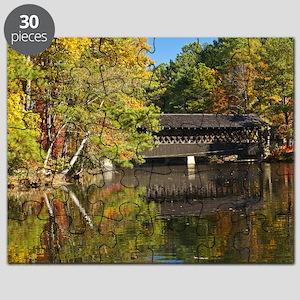 Stone Mountain Covered Bridge Puzzle