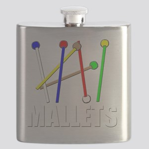 rainbow mallet percussion xylophone vibe des Flask