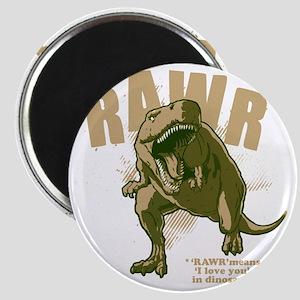 Rawr-Dinosaur-drk Magnet