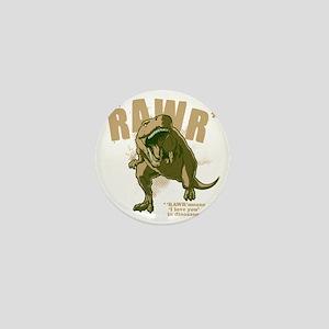 Rawr-Dinosaur-drk Mini Button