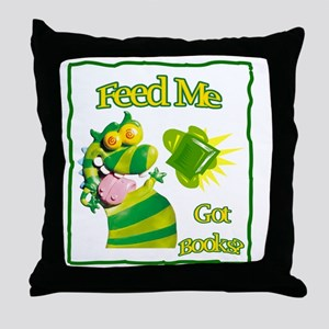 Reading Month Got Books? Throw Pillow