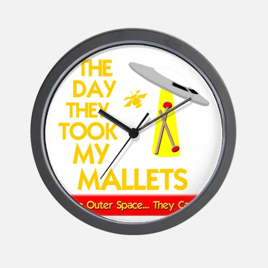 funny mallet percussion musical instrum Wall Clock