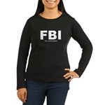 Full Blood Indian Women's Long Sleeve Dark T-Shirt