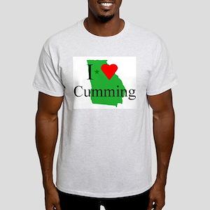 I Love Cumming Light T-Shirt