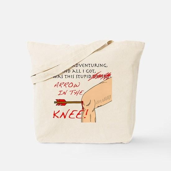 arrowknee1 Tote Bag