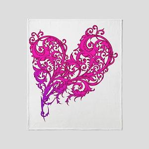 valentinesheart2 Throw Blanket