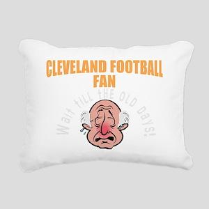 Funny Cleveland football Rectangular Canvas Pillow
