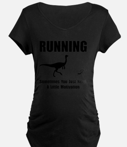 Running Motivation Black T-Shirt