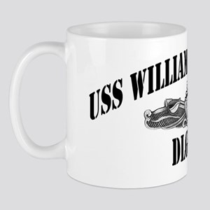 whstandley dl black letters Mug