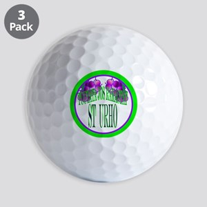 tuutata button Golf Balls