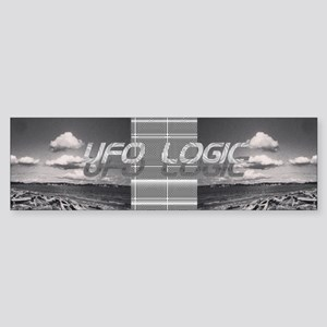 UFO Logic Mothership Sticker (Bumper)