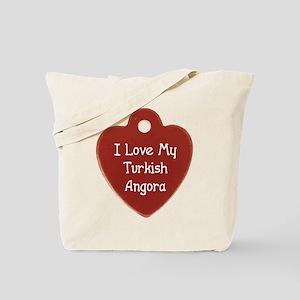 Love Angora Tote Bag