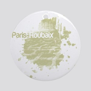 paris-roubaix Round Ornament