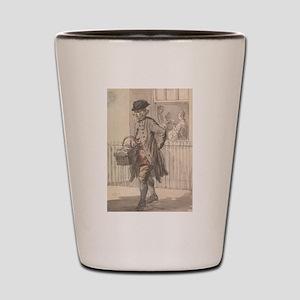 A Muffin Man - Paul Sandby - c1759 Shot Glass