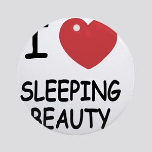 SLEEPING_BEAUTY Round Ornament