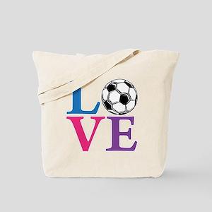 Multi2, Soccer LOVE Tote Bag