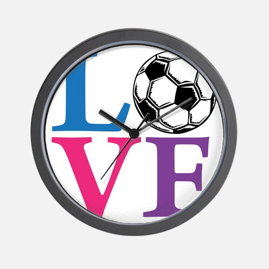 Multi2, Soccer LOVE Wall Clock