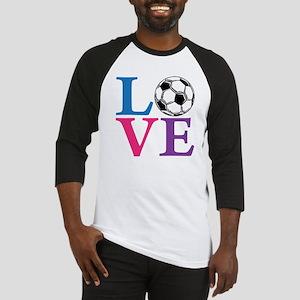 Multi2, Soccer LOVE Baseball Jersey
