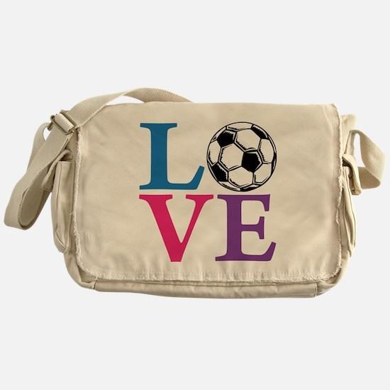 Multi2, Soccer LOVE Messenger Bag