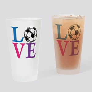 Multi2, Soccer LOVE Drinking Glass