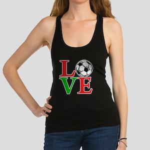 mexico2, Soccer LOVE Racerback Tank Top