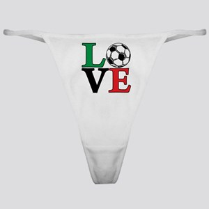 mexico, Soccer LOVE Classic Thong