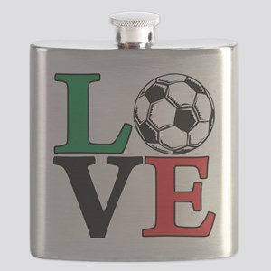 mexico, Soccer LOVE Flask
