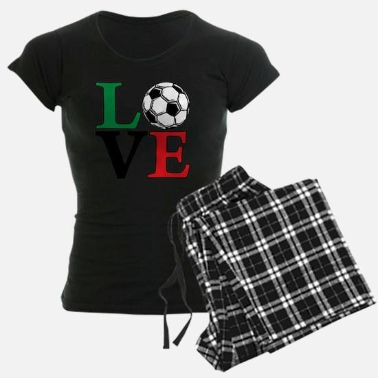mexico, Soccer LOVE Pajamas